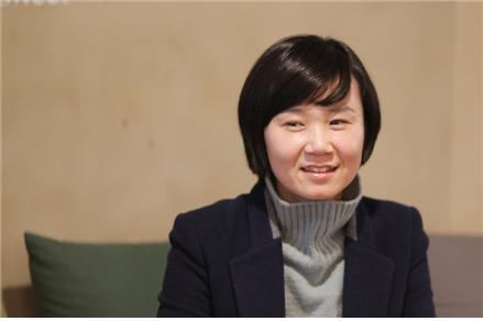 사진 - 조남주 소설가 (사진출처 : 은행나무)